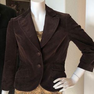 3/$20 Sale Nine West Brown Corduroy Jacket 4